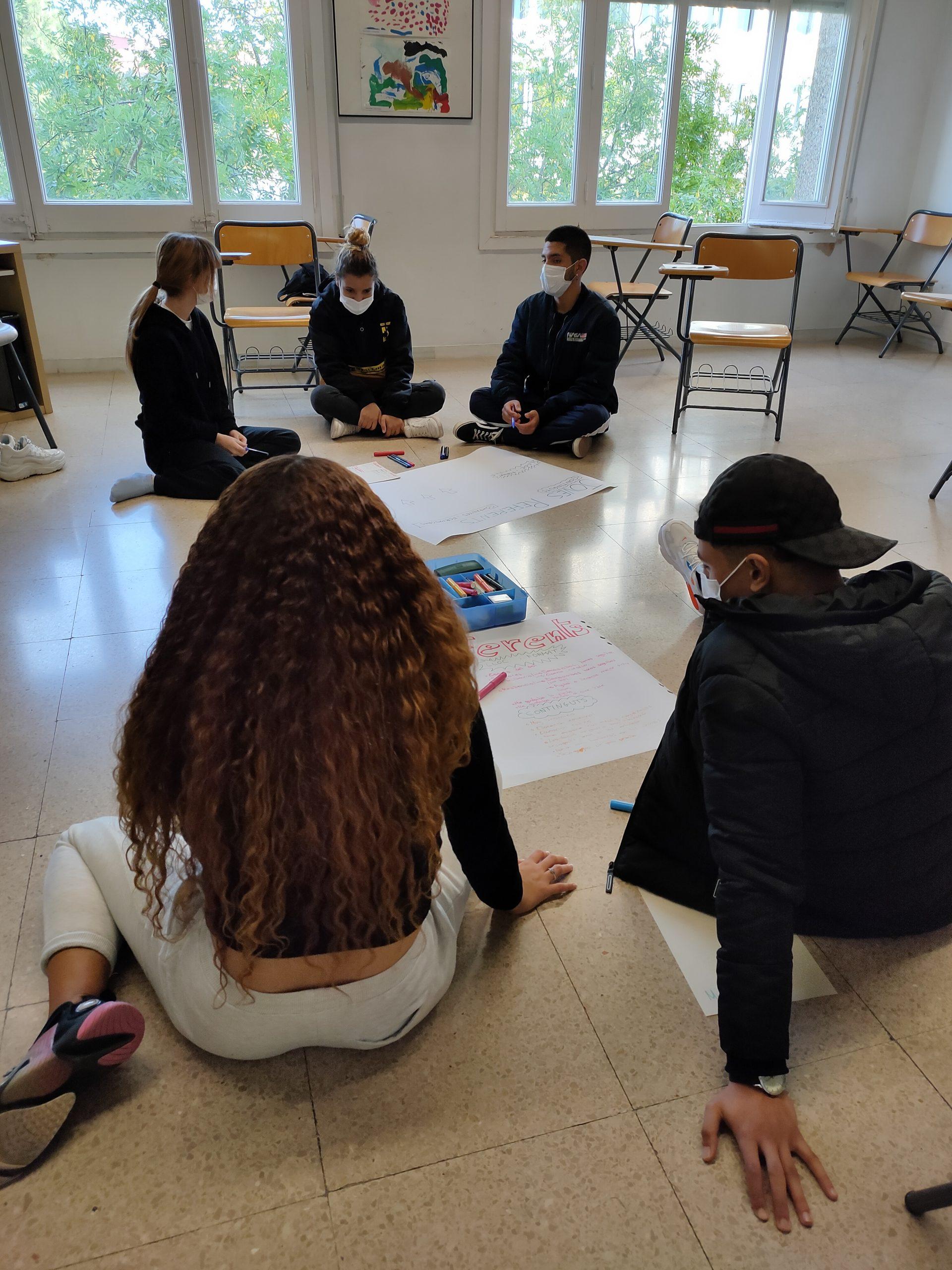 trobada projecte Activa't-Joves Referents